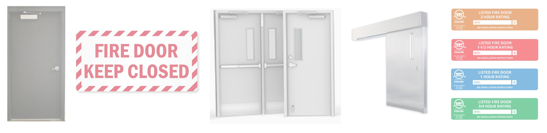 An example of fire doors and related images.